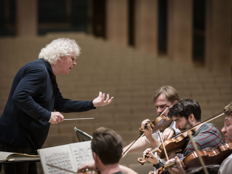 Sir Simon Rattle (c) Peter Meisel