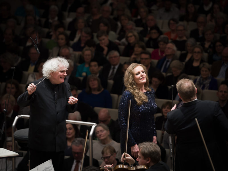 Sir Simon Rattle, Eva Maria Westbroek & Stuart Skelton (c) Peter Meisel