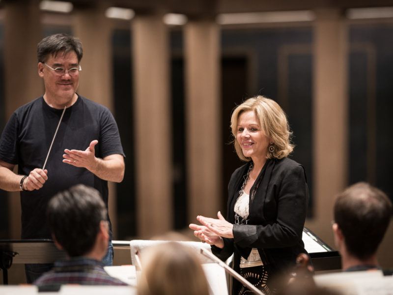 Alan Gilbert & Renée Fleming (c) Peter Meisel
