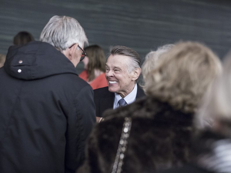 Mariss Jansons mit Fans (c) Camilla Winther