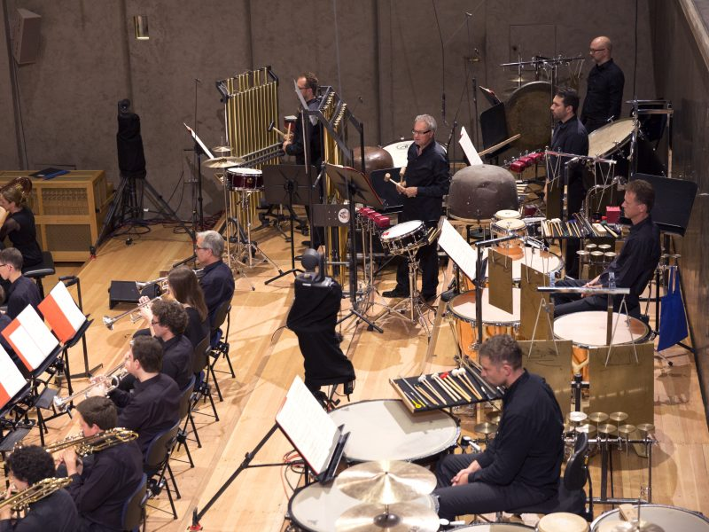 BRSO Percussion (c) Astrid Ackermann