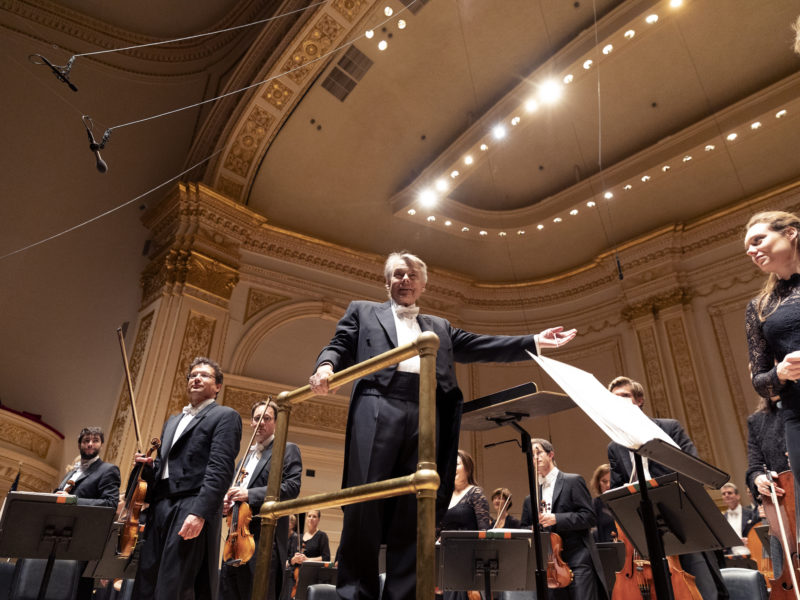 Mariss Jansons und das BRSO in der Carnegie Hall in New York (c) Astrid Ackermann